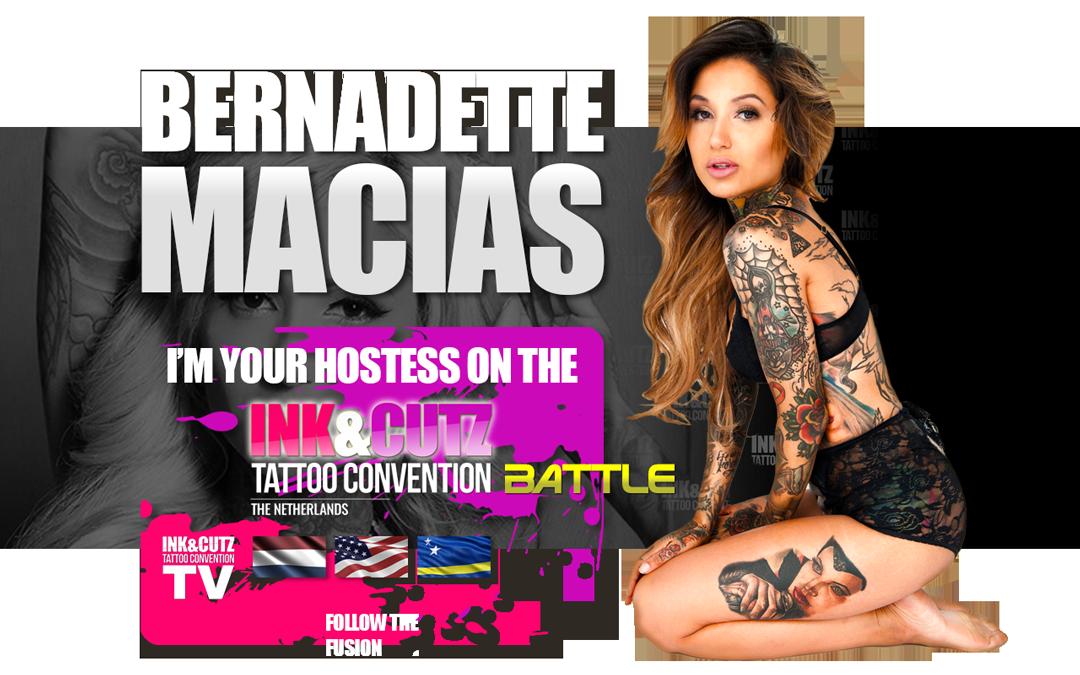 Bernadette Macias - Hostess INK&CUTZ 2018